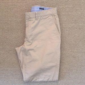Jcrew Slim Bedford Khaki Pants